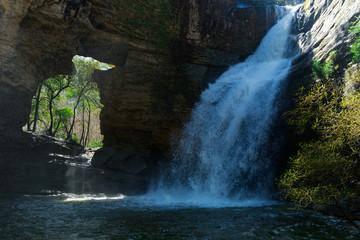 Waterfall La Foradada de Cantonigros
