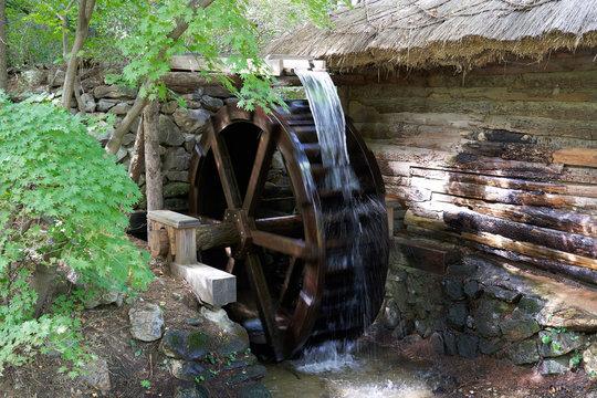 Water wheel In Korea
