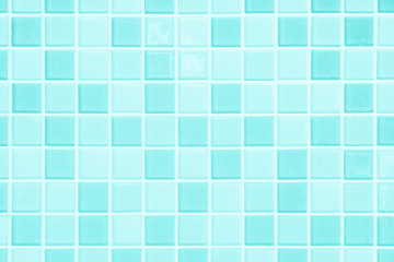 Pastel Blue the tile wall high resolution real photo or brick seamless and texture interior background.