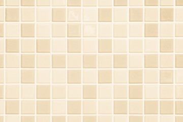 Pastel cream the tile wall high resolution real photo or brick seamless and texture interior background.