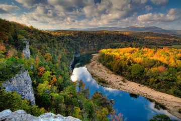 Buffalo National River from above