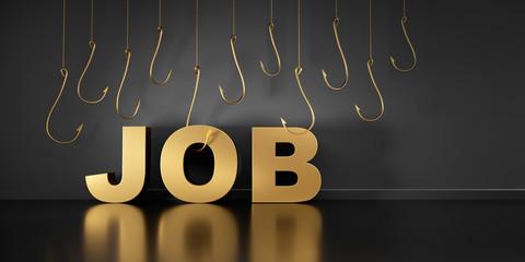 Suche nach dem idealen Job