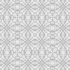 Classic seamless light pattern. Traditional orient ornament. Classic vintage background