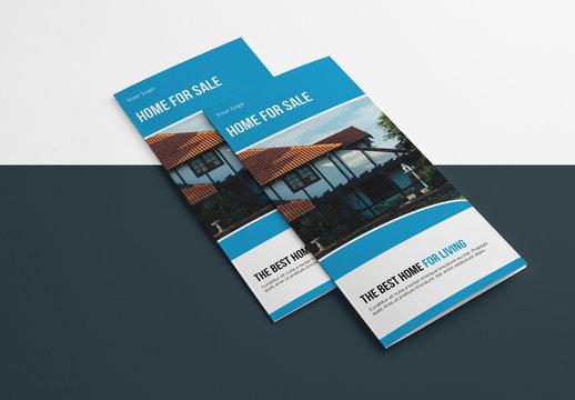 Business Tri-fold Brochure Layout