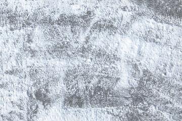 Ice under snow background, soft focus