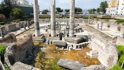 Pozzuoli Macellum Tempio di Serapide