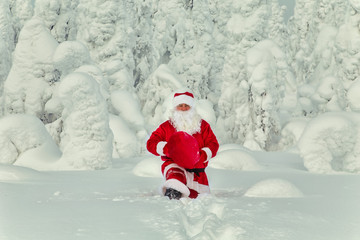 Authentic Santa Claus in Lapland.