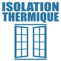 Logo isolation thermique.