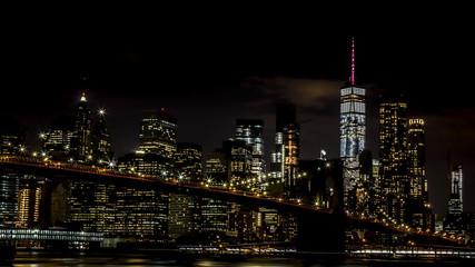 New York City (NYC) by night