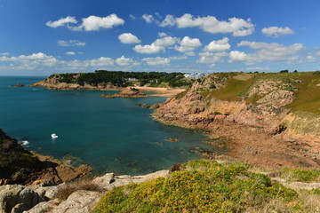 Portelet Bay, Jersey, U.K.