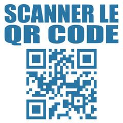 Logo scanner le QR code.
