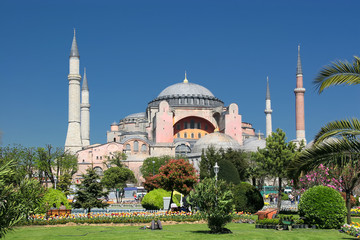 Temple of St. Sophia in Istanbul