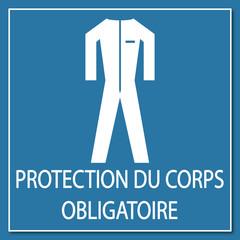 Logo protection du corps obligatoire.