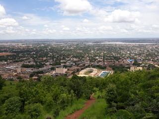 Stadtpanorama Bamako