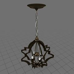 Pattern makers chandelier