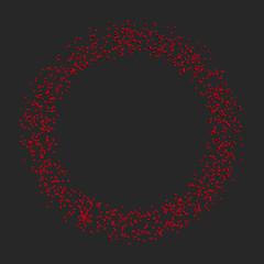 Circle of cubes