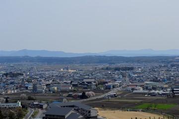 太郎坊宮からの眺め