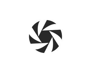 Business logo, vortex