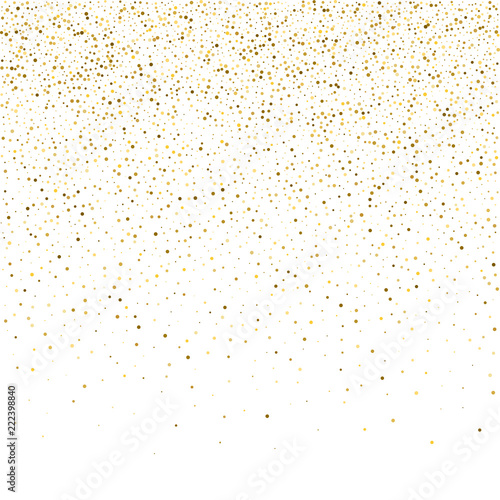 vector glitter background cute small falling golden dots sparkle background glitter sparkle confetti