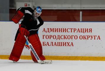 Kontinental Hockey League - Avangard Omsk Training