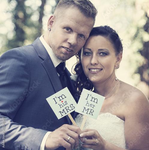 verliebt und verheiratet Stockfotos und lizenzfreie