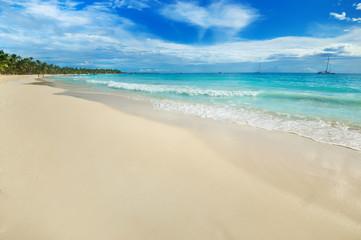 Saona Island in the Caribbean