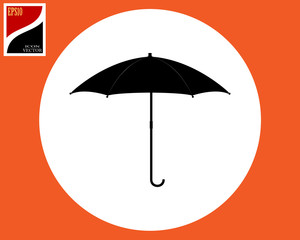 umbrella for shelter from the rain