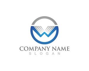 W logo business logo and symbols