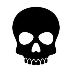 skull vector Halloween icon logo pirate bone skeleton illustration clip art graphic