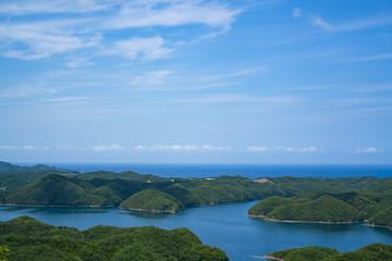 浅茅湾の眺め