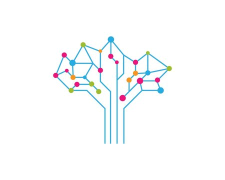 circuit technology ilustration vecto