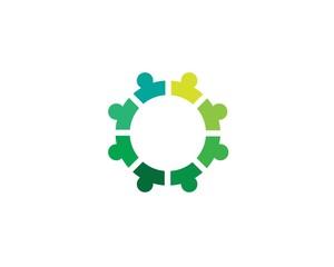 Community care logo and symbol template app