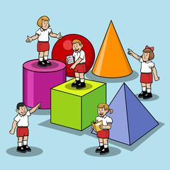 Learn Base Shape At Elementary School