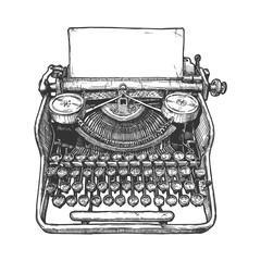 Vintage mechanical typewriter