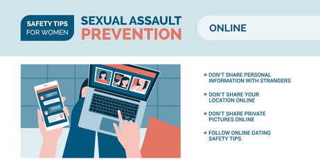 Sexual assault prevention: how to be safe online