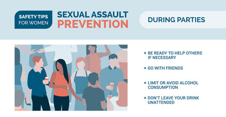 Sexual assault prevention: how to be safe during parties
