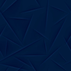 Abstract seamless pattern in dark blue colors