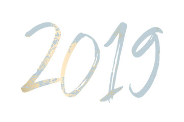 2019 New Year decoration design