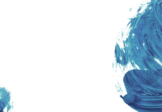 Abstract backround blue