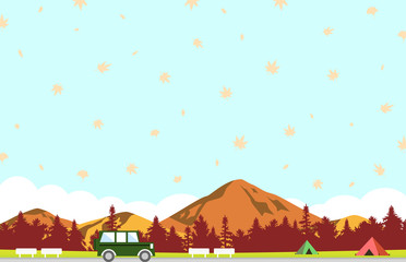秋 ドライブ