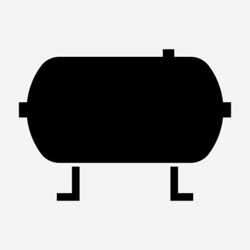 glyph beautiful air tank vector icon