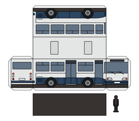 The simple paper model of a small bus