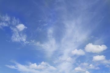 Cloud ans blue sky background