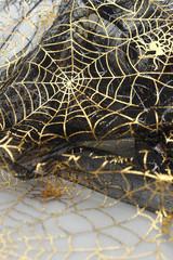 ハロウィンのチュールの背景