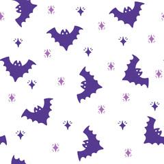 Vector halloween pattern