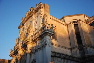 Lecce al tramonto