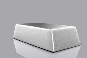silver bullion 3D
