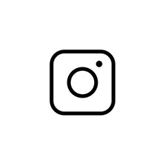 Photo vector icon, social symbol. Simple, flat design for web or mobile app