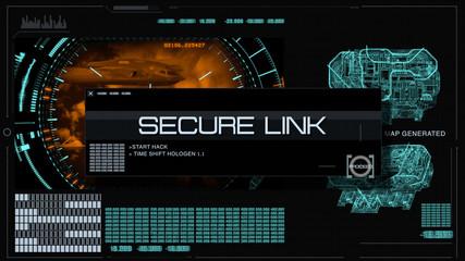 Secure data link