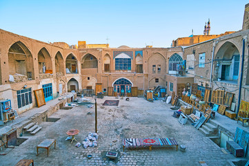 Warehouses of Kashan Grand Bazaar, Iran